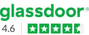 Glassdoor 4.9 Star rating