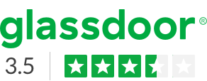 glassdoor ratings badge, click for details.