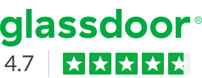 Glassdoor logo - 4.3 star rating