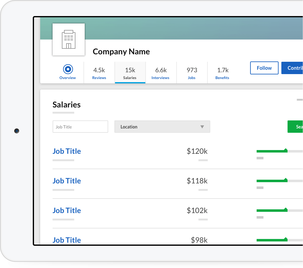 company salaries glassdoor